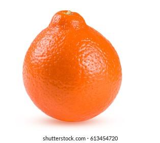 orange tangerine or Mineola isolated on white background