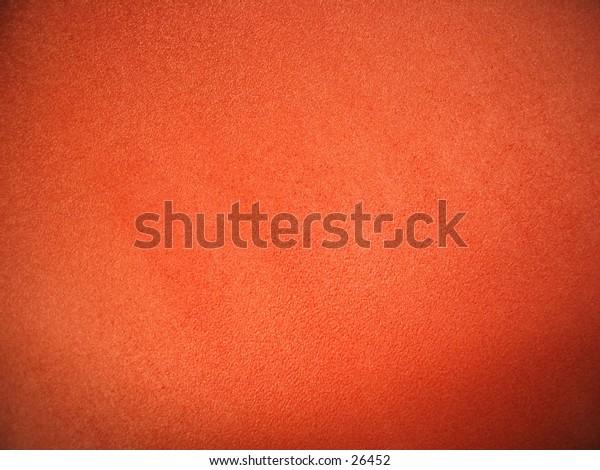 Orange upholstery