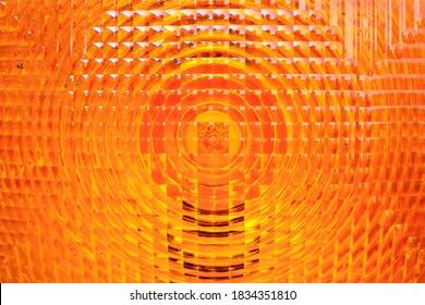 orange vehicle reflector texture background