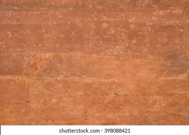 orange wall texture background - Terracotta wall