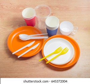 Orange and white disposable plastic plates different sizes plastic disposable forks spoons and knives & Paper Plates Images Stock Photos u0026 Vectors | Shutterstock