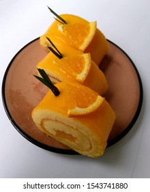Orange Yam Roll,candy And snacks
