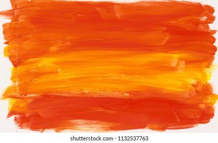 orange yellow acrylic background