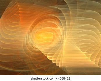 orange and yellow flame fractal background