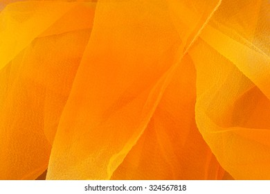 Orange and yellow ombre textile background