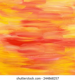 orange yellow strokes