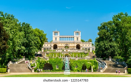 The Orangery Palace in the Sanssouci Park - Potsdam, Germany