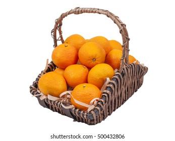 Oranges Gift Basket