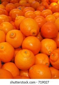 oranges at the market