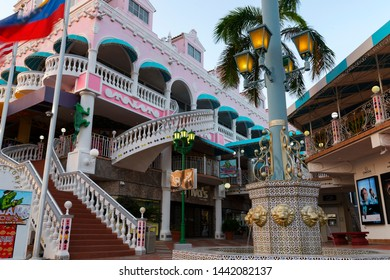 Oranjestad, Aruba - March 26, 2019. Royal Plaza Mall.