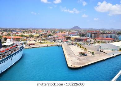 Oranjestad, Aruba ship port