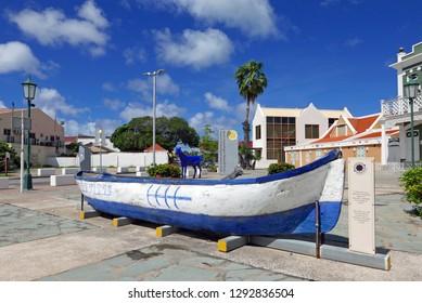 Oranjestad, Aruba/NL - November 11, 2018: National Archaeological Museum
