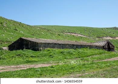 Orbelian's Caravanserai also known as Sulema Caravanserai and Selim Caravanserai.  Vayots Dzor Province, Armenia