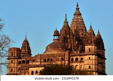 Orchha, Madhya Pradesh, India - November 30, 2018