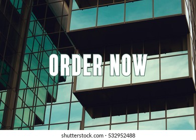Order Now, Business Concept