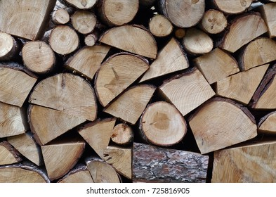Ordered Firewood Stack