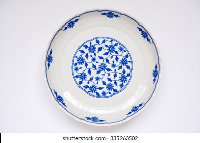 Ordinary ceramic dish.