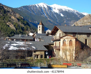 Ordino village, Andorra, Pyrenees , Spain