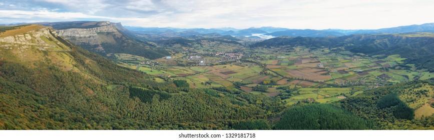 Orduna Valley and surroundings, Alava, Spain