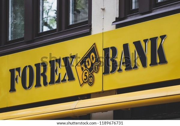 Orebro Sweden September 25 2018 Forex Royalty Free Stock Image