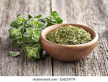Oregano.Fresh and dry