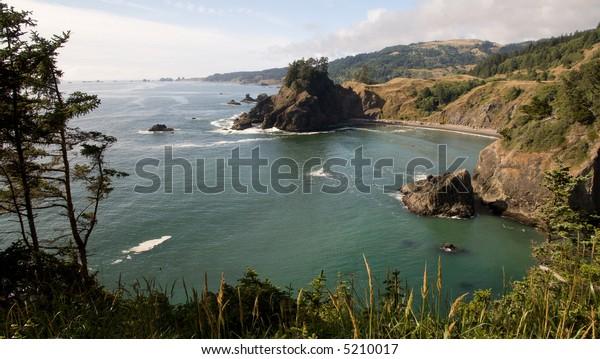 Oregon Coast Cliffs