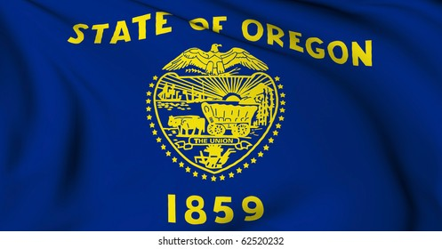 Oregon flag - USA state flags collection