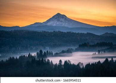 Oregon Mountain views at Mt Hood