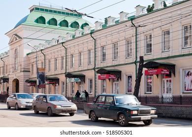 Orenburg. Gostiny Dvor. Kirova street. Russia. 07.04.2012