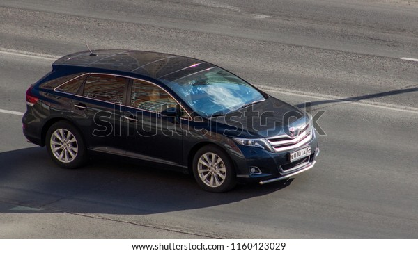 2018 Toyota Venza >> Orenburg Russia August 202018 Toyota Venza Stock Image