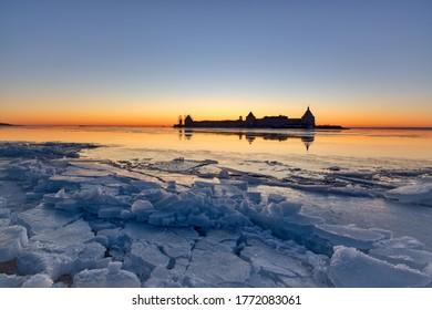 Oreshek Fortress on Lake Ladoga