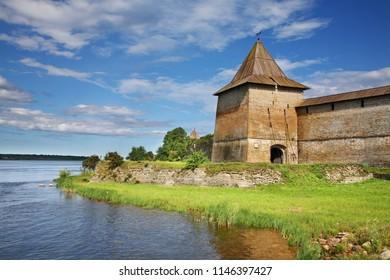 Oreshek Fortress at Shlisselburg. Leningrad oblast. Russia