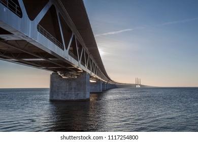 oresunds bridge,bridge between danmark and sweden