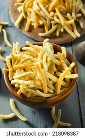 Organic Baked Veggie Straws with Sea Salt