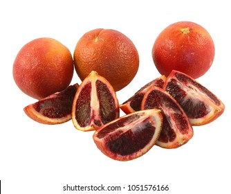 Organic Blood Oranges (Moro Oranges) - Deep Red fruit