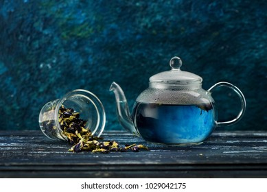Organic blue tea Anchan, Clitoria, Butterfly Pea