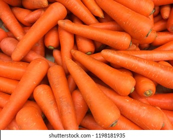 Organic carrot. Food background