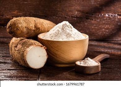 Organic cassava root starch - Manihot esculenta