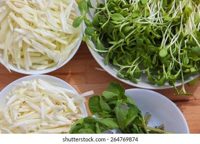 organic ecological vegan food ingredients