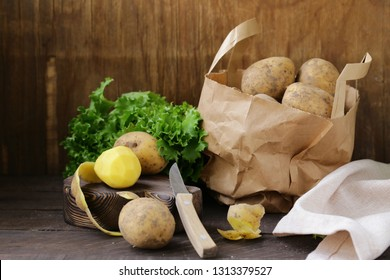 Organic Farm Potatoes for Healthy Eating