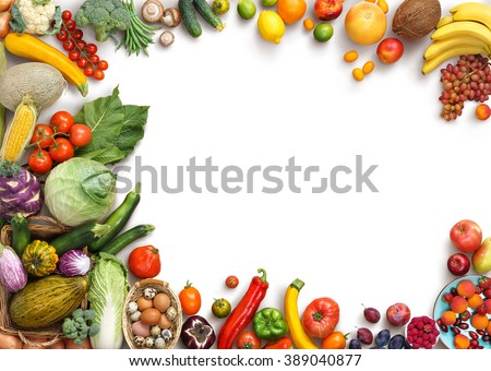organic food background food photography different の写真素材 今