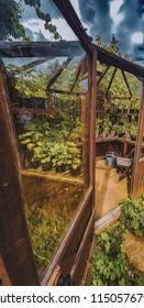 organic gardens greenhouse