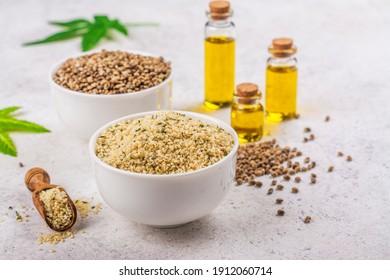 Organic hemp seeds and hemp seeds oil