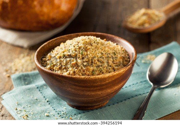Organic Homemade Bread Crumbs Ready Cooking Food And Drink