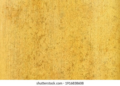 Organic leaf texture background. Fortuna gold color trend 2021.