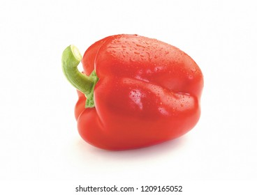 Organic Natural Food red bell pepper