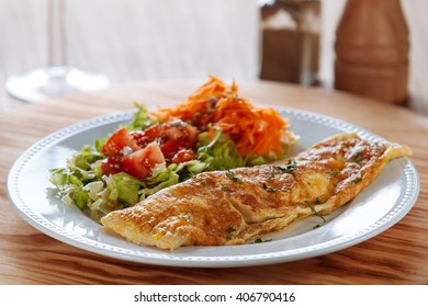 Organic omelette with vegetables/Portuguese style