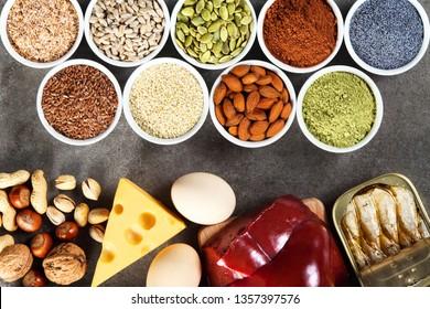 Organic phosphorus sources. Foods highest in phosphorus