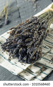 Organic Purple Dry Lavender in a Bundle