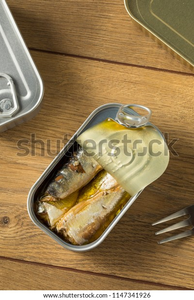 Organic Salty Canned Sardines in Olive Oil